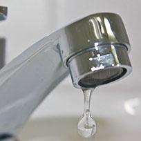 Perdita d'acqua (foto di repertorio)