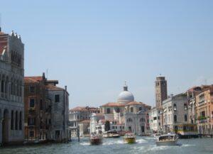 Una veduta di Venezia