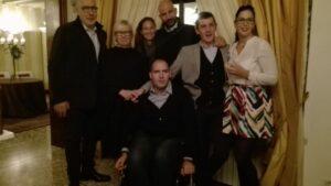La famiglia Baggio con lo chef Nino fa parte del Cocoradicchio