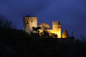 Castello di Gropparello - By Night-3
