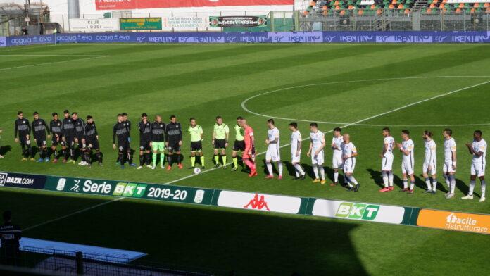 Il Venezia FC allo stadio Penzo