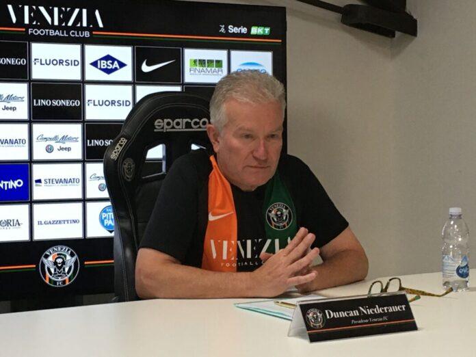Il Presidente del Venezia FC, Duncan Niederauer