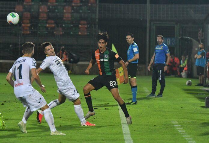 Maleh durante un'azione del match ©Marco Sabadin/Vision