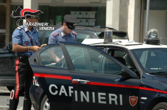 Carabinieri in azione in terraferma veneziana