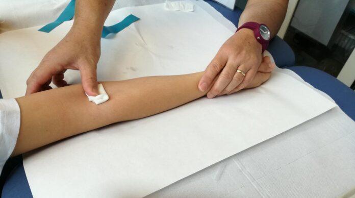 preparazione al prelievo di sangue