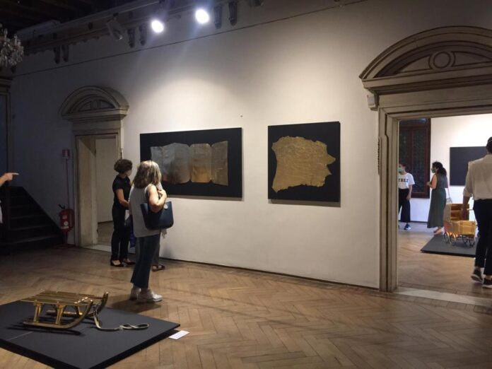 """Alcune opere esposte alla mostra """"In Fabula"""""""