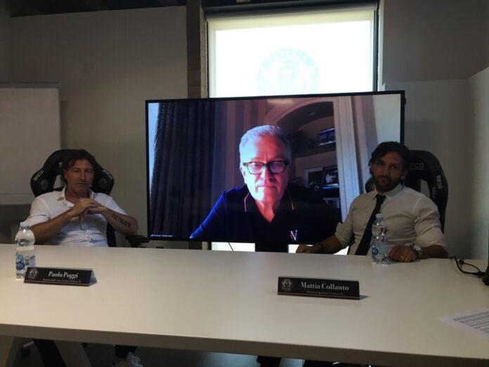 Niederauer in videoconferenza alla presentazione di Collauto e Poggi