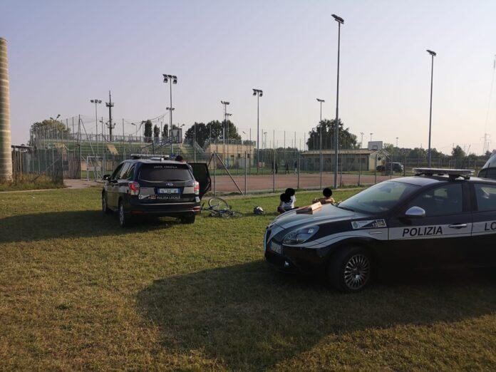 La Polizia Locale di Venezia in azione a Zelarino