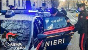 L'arresto del maghrebino da parte dei Carabinieri