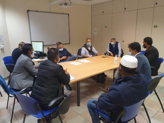 L'incontro tra i rappresentanti dell'Ulss e della comunità bengalese 3