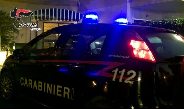 I Carabinieri in azione durante la notte