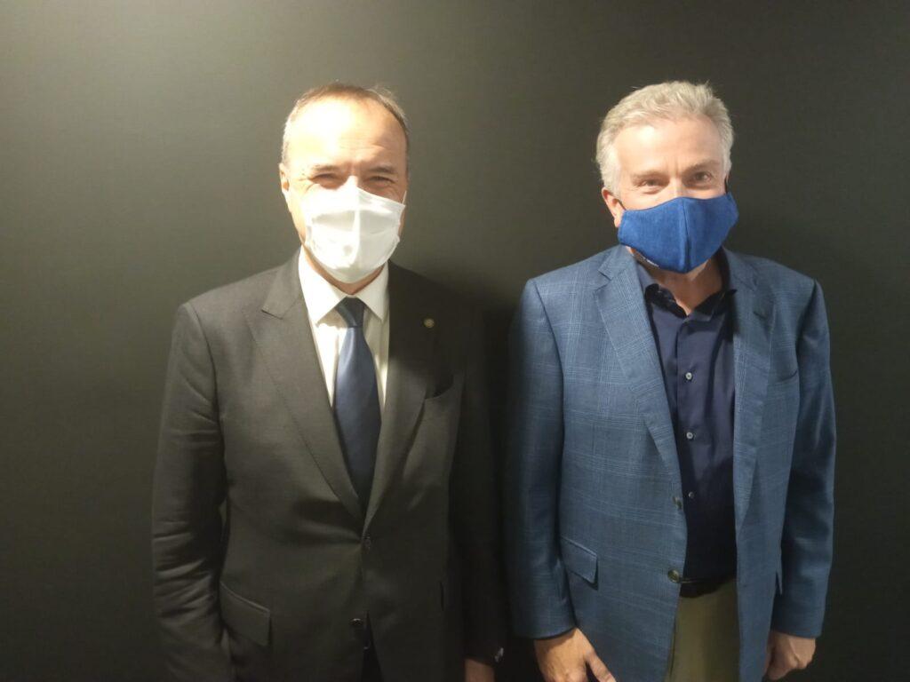 Mauro Balata e Duncan Niederauer