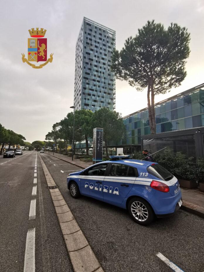 La Polizia di Stato in azione a Jesolo