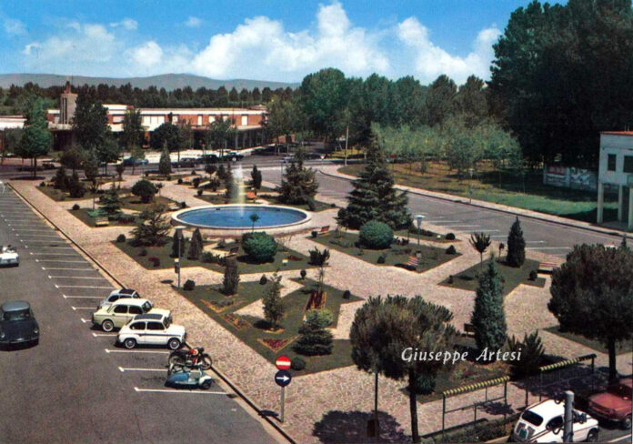 La fontana di Piazza Brescia a Jesolo