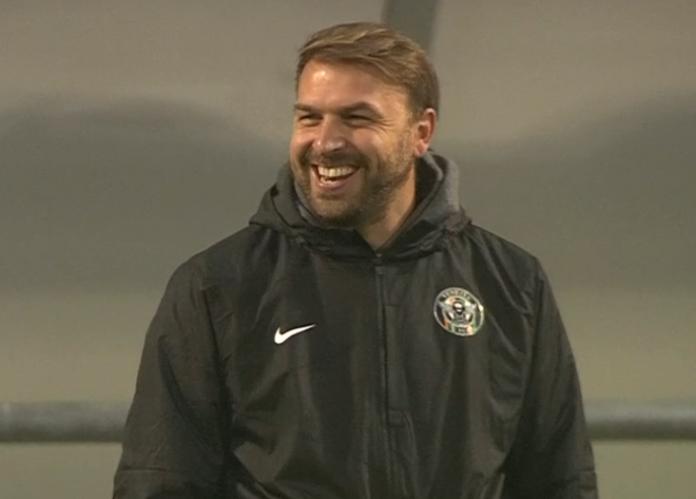 Un sorridente Paolo Zanetti