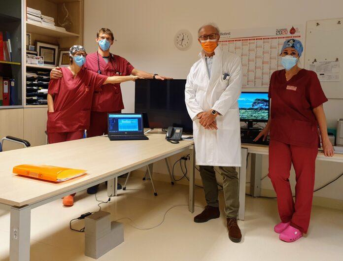 La donazione dell'Agesci al Reparto di rianimazione dell'Ospedale dell'Angelo di Mestre