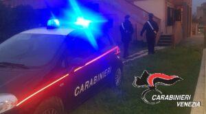 I Carabinieri nel corso delle operazioni di arresto