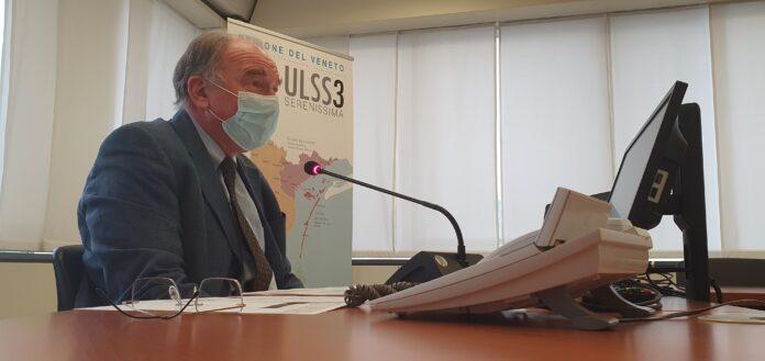 Il Direttore Dal Ben nel corso della conferenza stampa