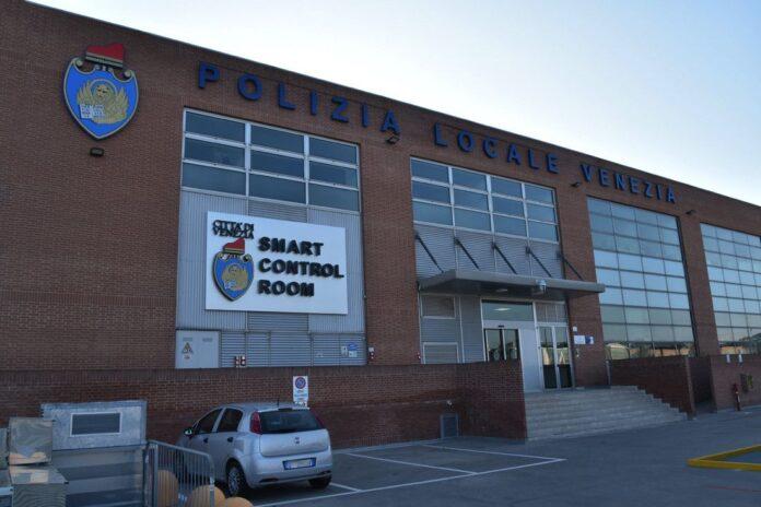 La sede della Polizia Locale al Tronchetto