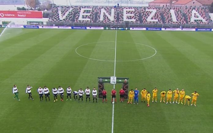 Il Venezia FC allo stadio Pierluigi Penzo