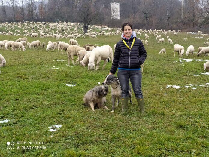 Una pastora