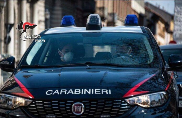 I Carabinieri di Marcon in azione
