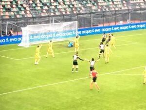 Il goal di Forte in Venezia FC- Cittadella