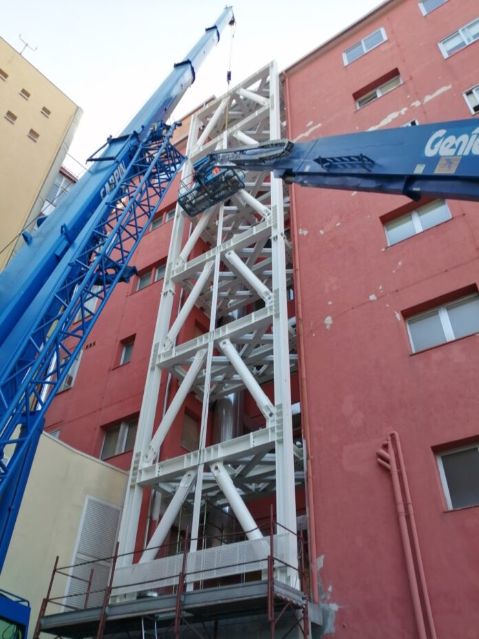 I lavori di adeguamento sismico all'Ospedale di Chioggia
