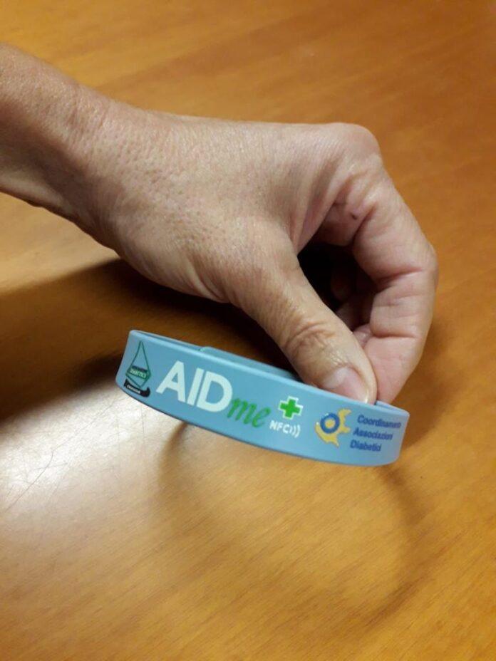 Il braccialetto salvavita AIDme