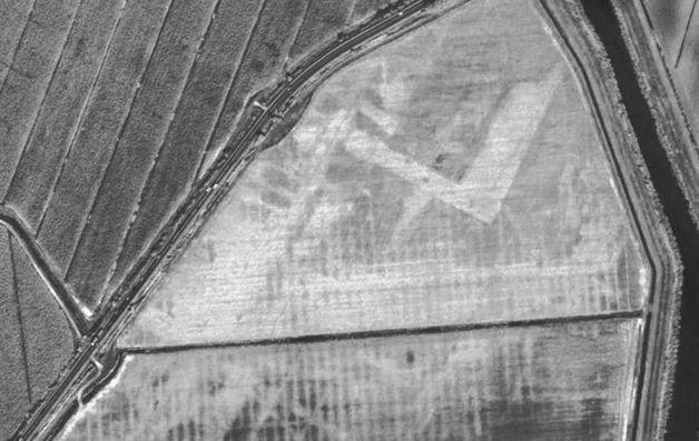 Immagine satellitare del porto di Altino (Paolo Mozzi, Università degli studi di Padova)