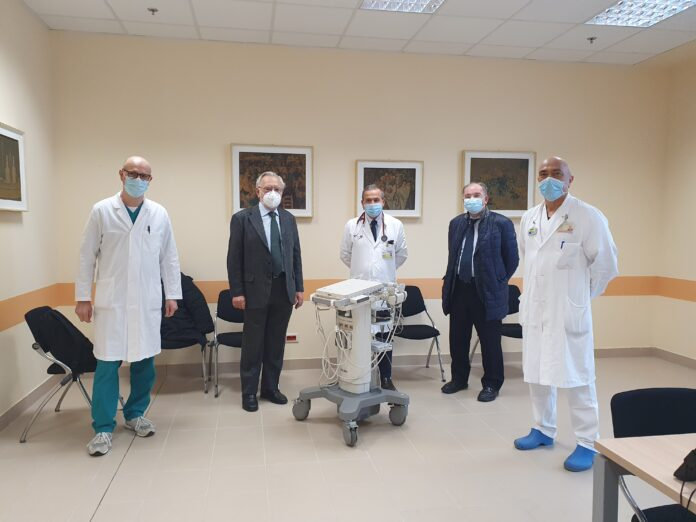 La consegna dei doni del Rotary Club all'Ospedale Civile di Venezia