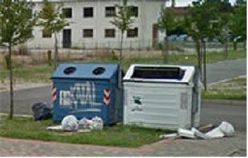 Cassonetti per rifiuti a San Dona di Piave