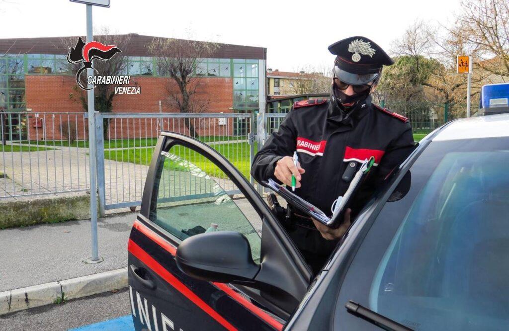 I Carabinieri di Noale in azione