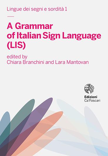 La Copertina della grammatica LIS