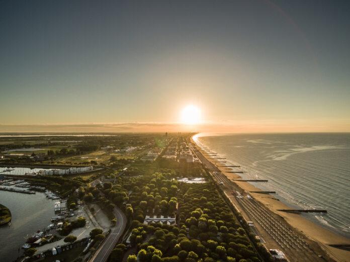 Il litorale jesolano (foto d'archivio)