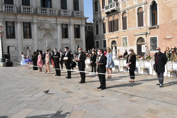 La manifestazione insieme per il Wedding a Venezia