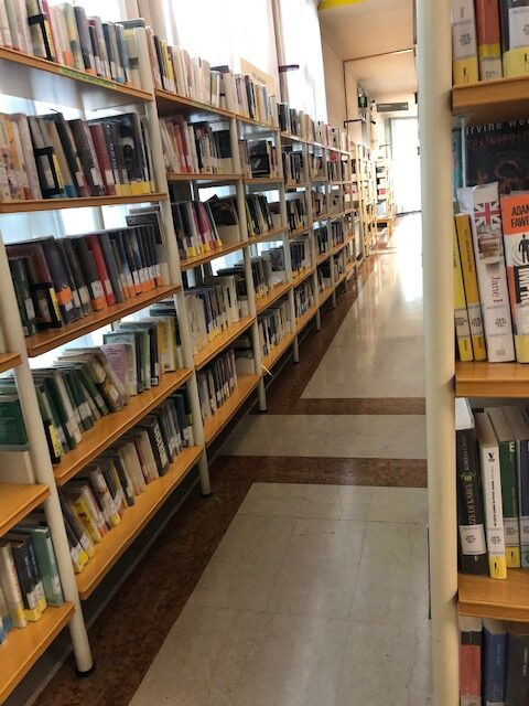L'ingresso della Biblioteca Civica di San Dona' di Piave