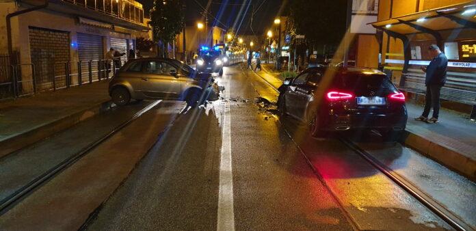 Un incidente in via San Dona' a Mestre