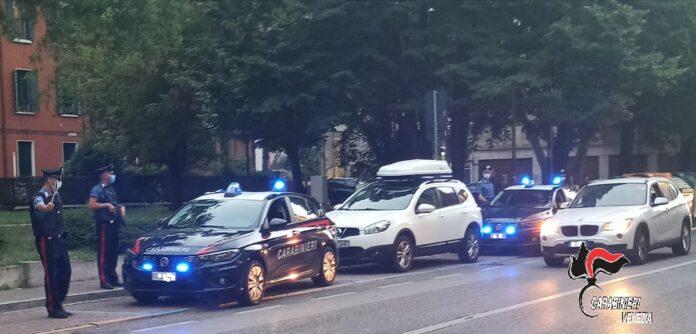 I Carabinieri in via Piave