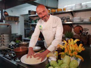 Diego Scaramuzza in cucina