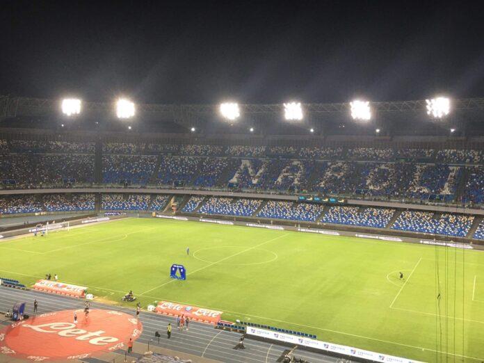 Lo stadio Diego Armando Maradona