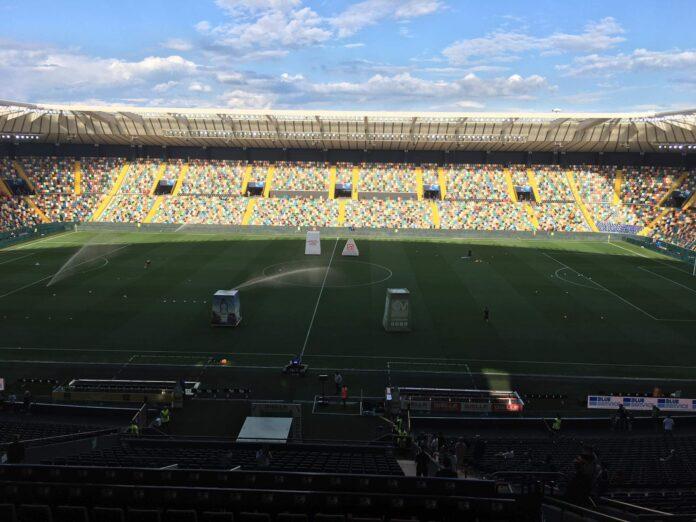 La Dacia Arena di Udine