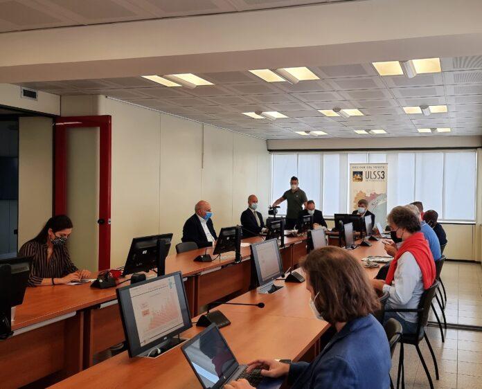 La conferenza stampa nella sede dell'Ulss 3