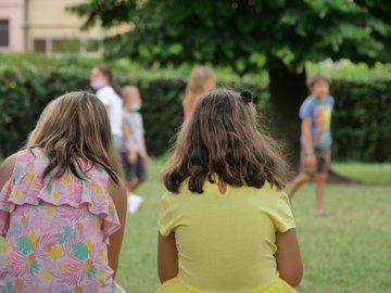Bambini nei centri estivi