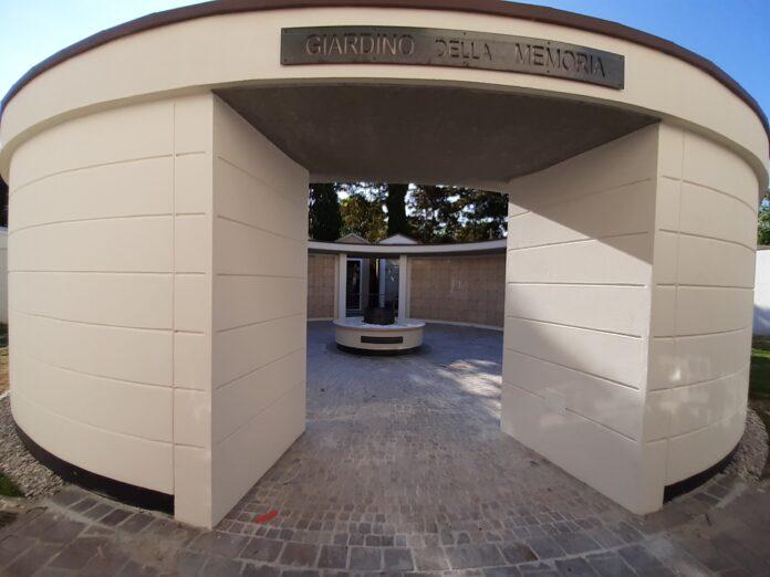 Il Giardino della Memoria nel Cimitero del Capoluogo del Miranese