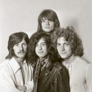 Led Zeppelin by Dick Barnatt - Redferns_London_December 1968_Getty Images
