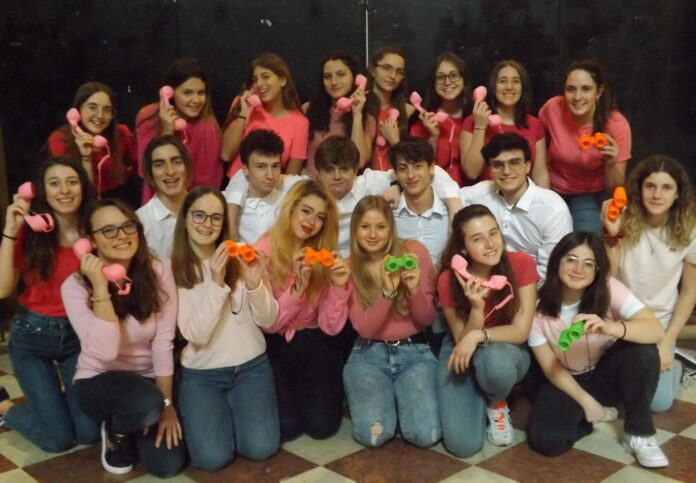 Il cast di Una Bionda in Carriera - accademia musicale Giuseppe Verdi