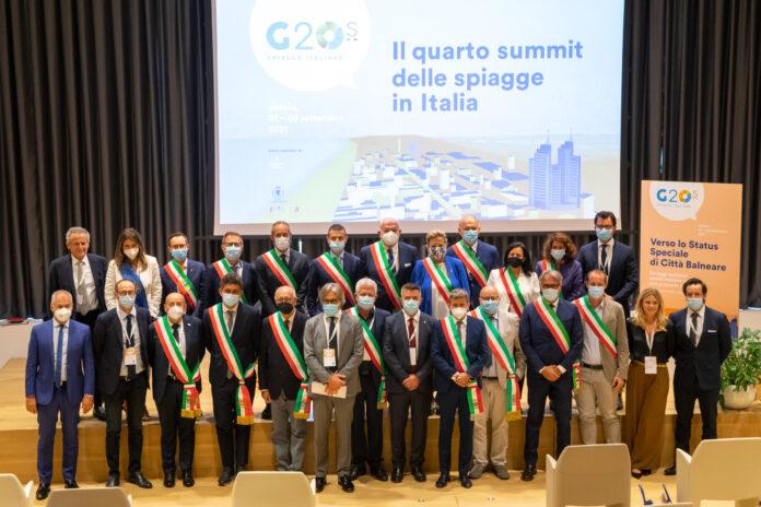 I partecipanti al G20 spiagge
